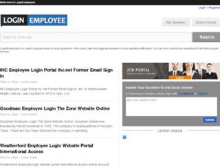 loginemployee.com screenshot