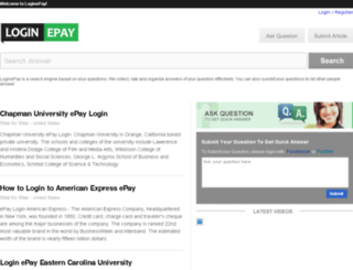 loginepay.com screenshot