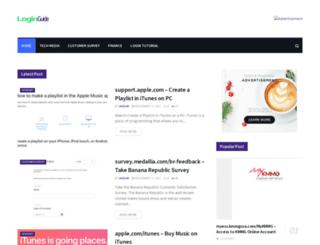 loginguide.org screenshot