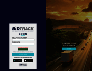 logins.bidtrack.co.za screenshot