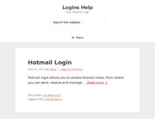 logins.help screenshot