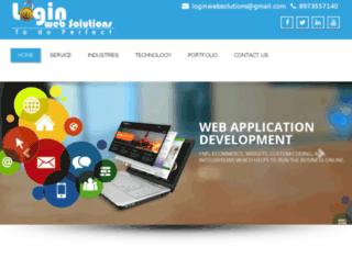 loginwebsolutions.in screenshot