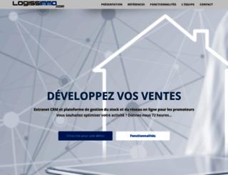 logissimmo.com screenshot