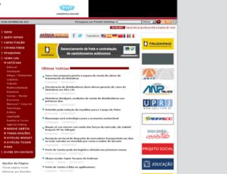 logisticasistemica.com.br screenshot
