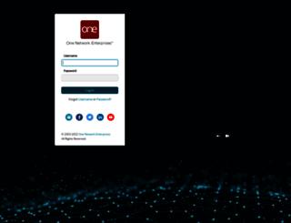 logistics.onenetwork.com screenshot