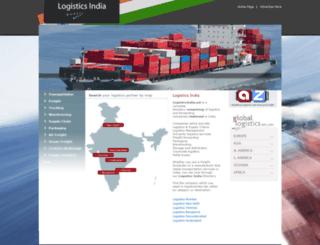 logisticsindia.net screenshot