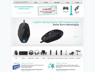 logitechshop.rs screenshot