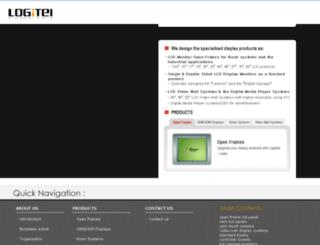 logitel.co.kr screenshot