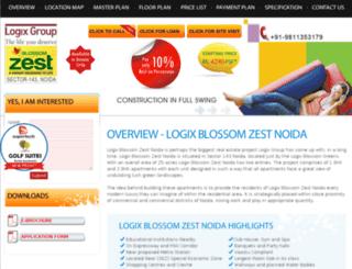 logixblossomzestnoidas.com screenshot