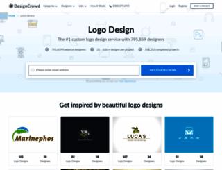 logo.designcrowd.co.uk screenshot