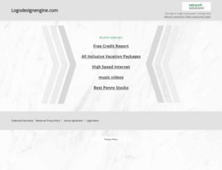 logodesignengine.com screenshot