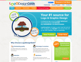 logodesigngeek.com screenshot