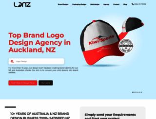 logodesignnewzealand.co.nz screenshot