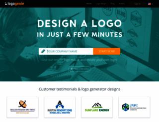 logogenie.net screenshot