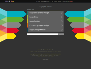 logoguru.co.uk screenshot