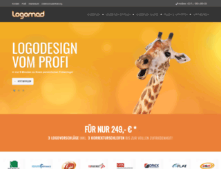 logomad.com screenshot