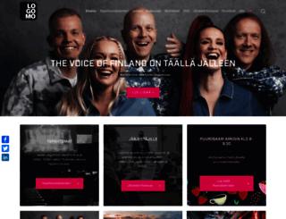logomo.fi screenshot