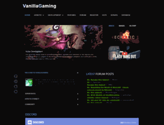logon.vanillagaming.org screenshot