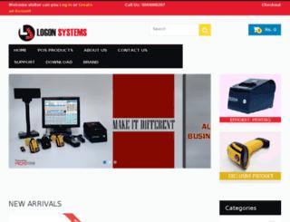 logonsystems.adspoton.com screenshot