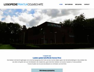 logopedie-colmschate.nl screenshot