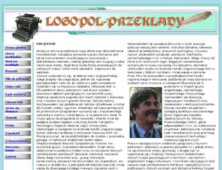 logopol-przeklady.pl screenshot