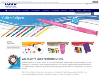 logoprom.co.uk screenshot