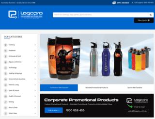 logopropromotionalproducts.com.au screenshot