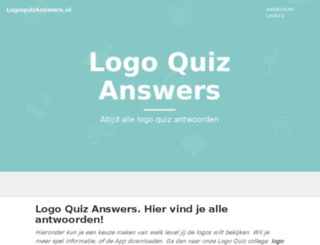 logoquizanswers.nl screenshot