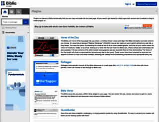 logosbiblewidget.com screenshot