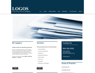 logoslaw.ca screenshot