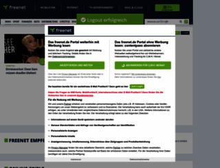 logout.freenet.de screenshot