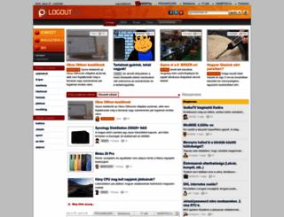logout.hu screenshot