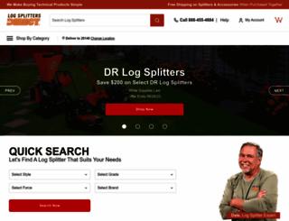 logsplittersdirect.com screenshot