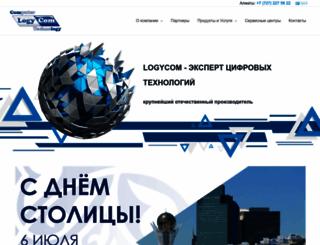 logycom.kz screenshot