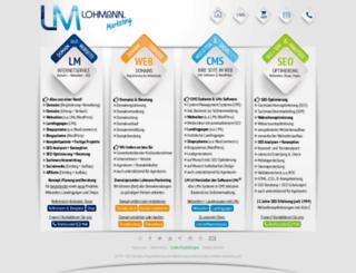 lohmann.marketing screenshot