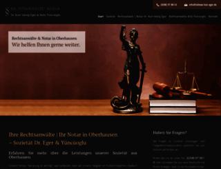 lohmar-lutz-eger.de screenshot