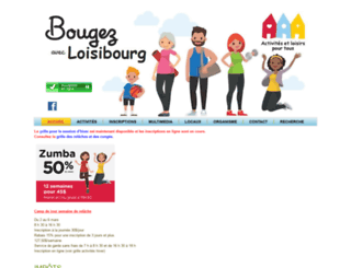 loisibourg.org screenshot
