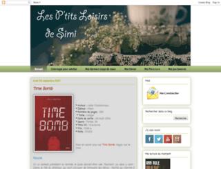 loisirsdesimi.blogspot.com screenshot