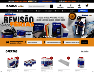 loja.chevroletnova.com.br screenshot