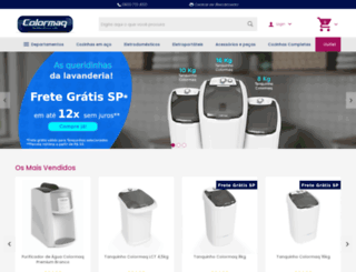 loja.colormaq.com.br screenshot