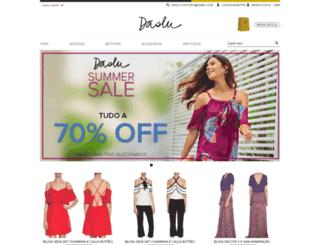 loja.daslu.com.br screenshot
