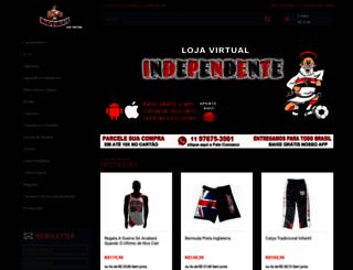 loja.independentenet.com.br screenshot