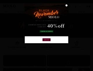loja.miolo.com.br screenshot