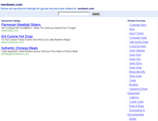 loja.nerdown.com screenshot