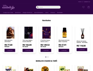 loja.simbolika.com.br screenshot