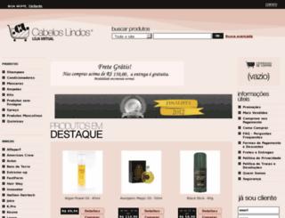 lojacabeloslindos.com.br screenshot