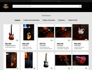 lojadamusica.com.br screenshot