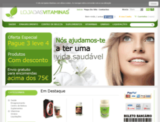 lojadasvitaminas.com screenshot