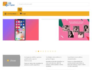lojadecupons.com.br screenshot