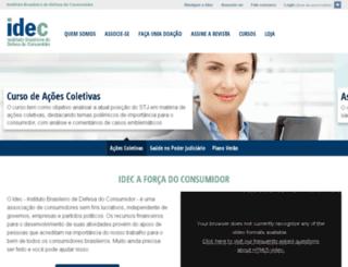 lojadoidec.org.br screenshot